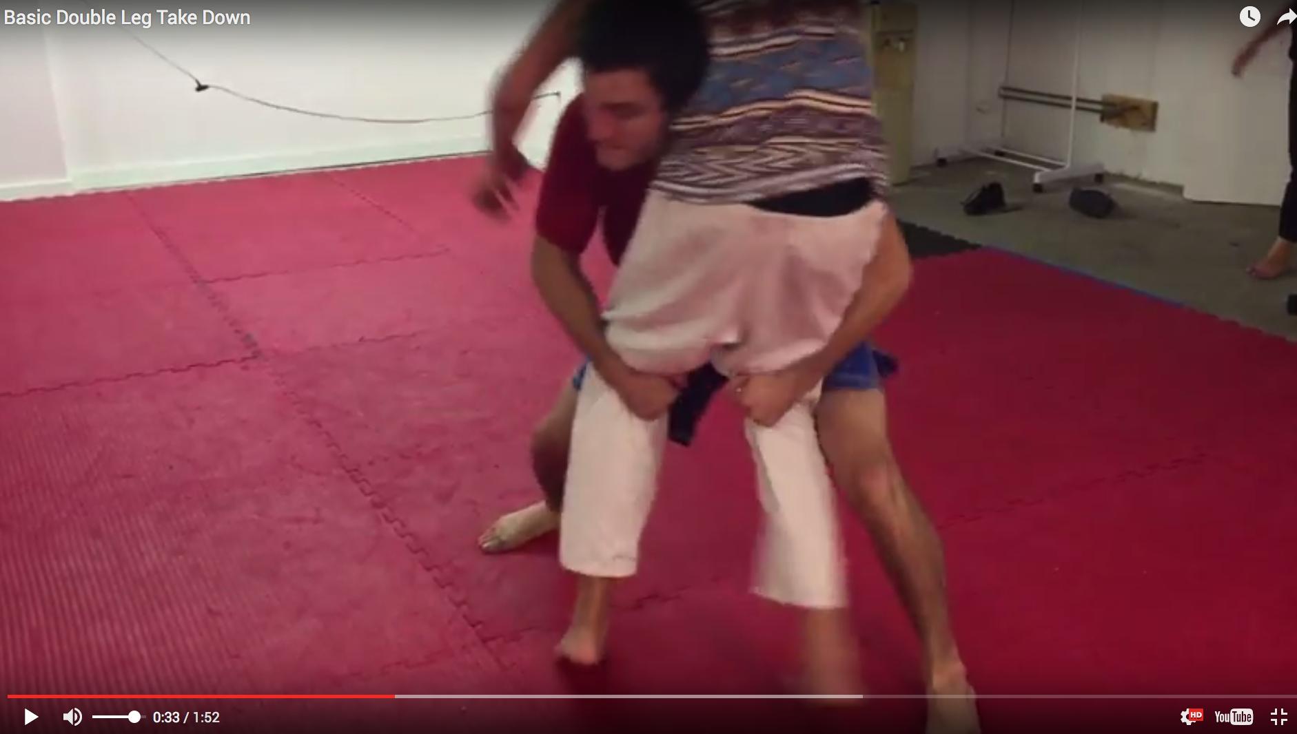 Basic Double Leg Wrestling Take Down