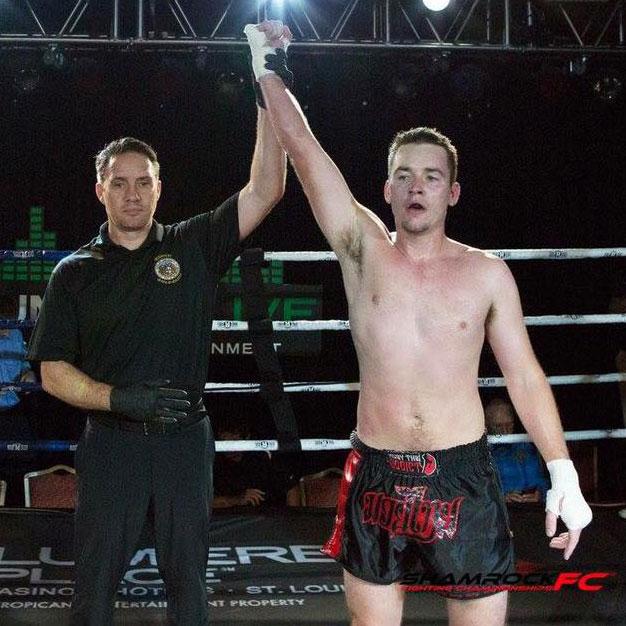 Brandon Wins his fight at Shamrock FC