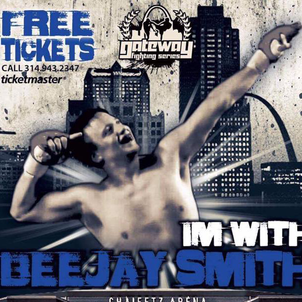 BeeJay Smith fighting at Gateway