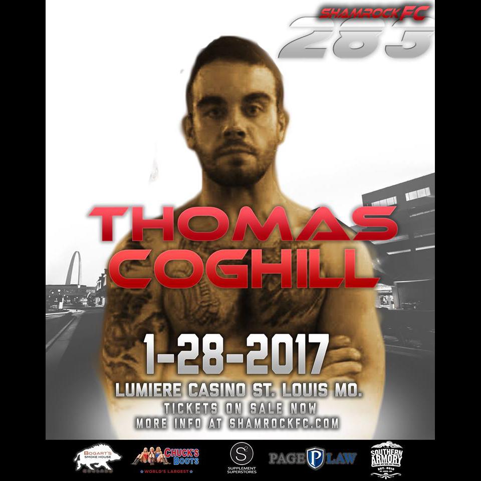 MMA debut! Thomas Coghill